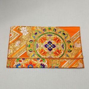 Handmade Kimono Clutch Bag-Wristlet